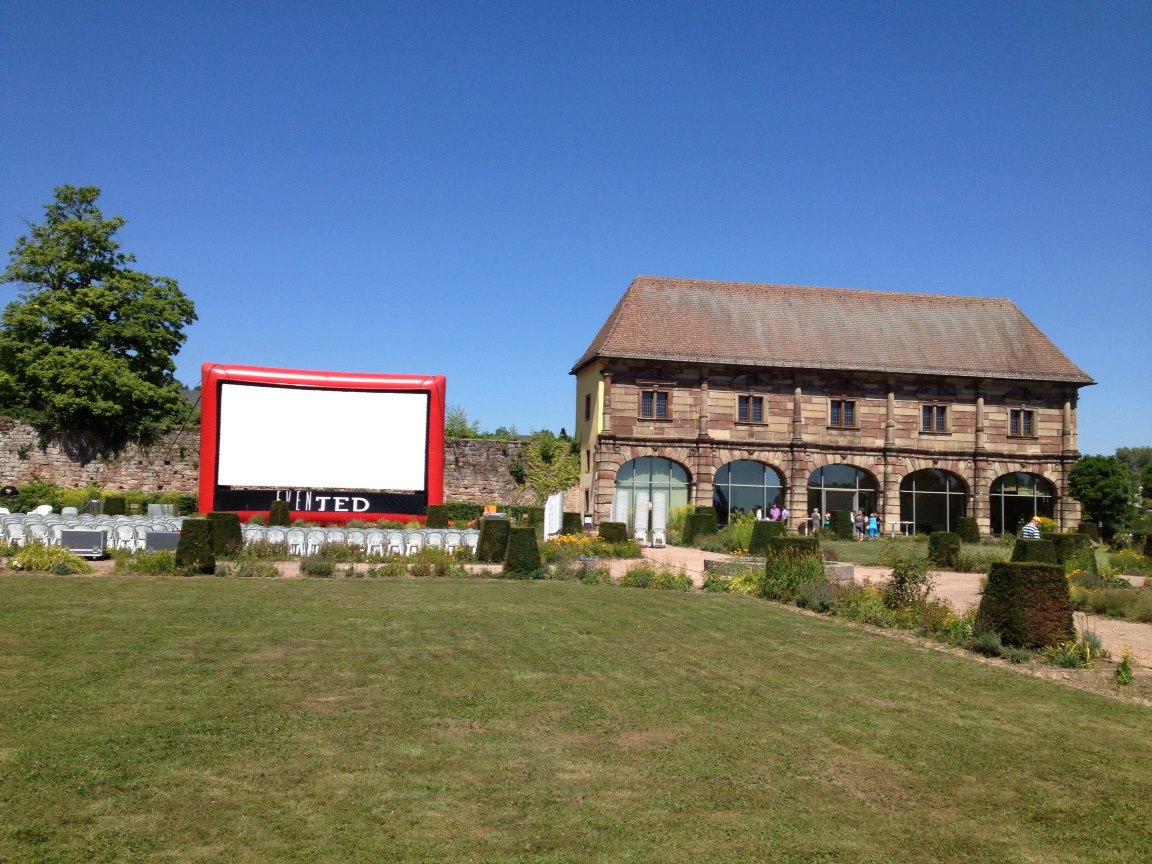 Kino an der Orangerie